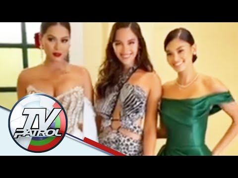 Pia Wurtzbach at Catriona Gray reunited sa Miss South Africa Pageant | TV Patrol