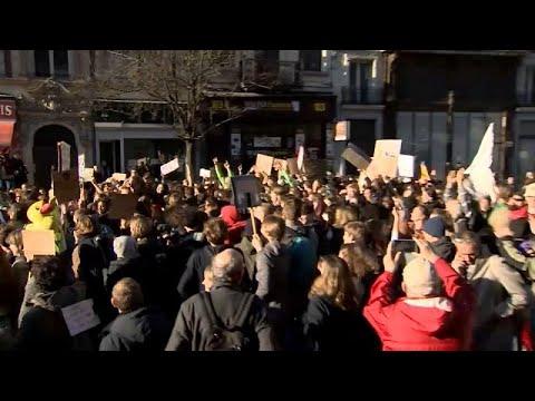 Βρυξέλλες: Διαδήλωση για το κλίμα