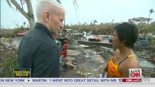 Anderson Cooper - Thanks Filipinos For 'showing Us How To Live'