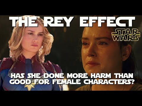 Rey And The Sad Devolution Of The Female Character