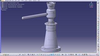 Catia V5 Tutorial|P3.1-Create Screw Jack|Screw Spindle|Mechanical Engineering Design