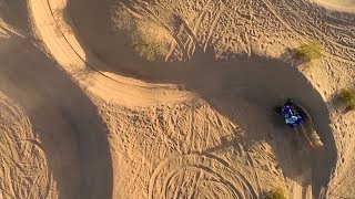 9. Extended Cut - Glamis Dunes Aerial Video with Yamaha SE Raptor 700R and YFZ450R - GoPro 3+