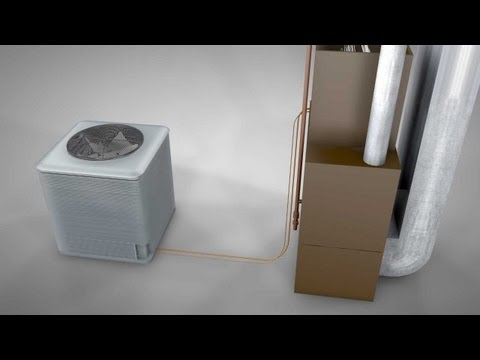 air conditioning - This video provides information on how a central air conditioner works and explains common problems that occur in a condensing unit outside the home. Underst...
