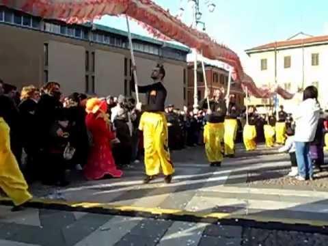 Capodanno cinese in piazza a Saronno