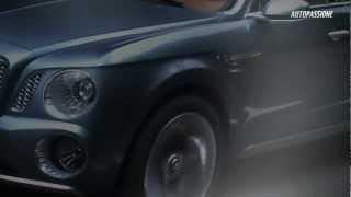 Bentley prezinta primul SUV din istoria marcii