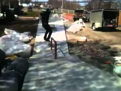 A Run at the New Middletown Connecticut Skatepark