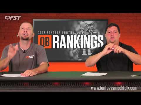 2018 Fantasy Football Quarterback Tiers and Rankings thumbnail