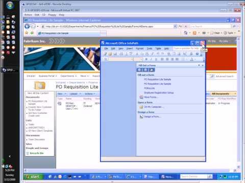 Microsoft Dynamics GP: PO Requisition Process