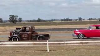 Mulwala Australia  city photos : 2016 LAKE MULWALA ROD RUN - VIDEO0873 - BRUTUS - JUNKERS AUSTRALIA