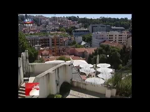 Freguesia de Santo António - Praia do Torel - Lisboa - SIC Primeiro Jornal 2014