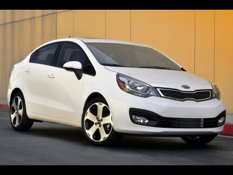 2012 Kia Rio Sedan Review 1.6 L 4-Cylinder