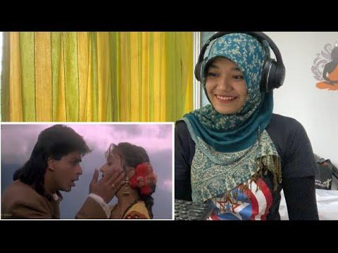 SRK Dekha Tujhe To   KOYLA   SHAHRUKH KHAN   REACTION   Madhuri Dixit   Kumar Sanu   Alka Yagnik
