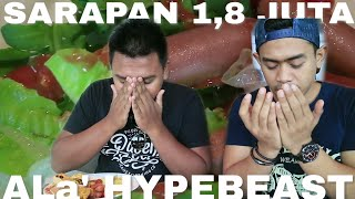 Download Video SARAPAN RP 1.800.000 Feat TanBoyKun di SURABAYA MP3 3GP MP4