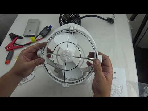 NEW Sirocco II Fan Caframo 12 Volt
