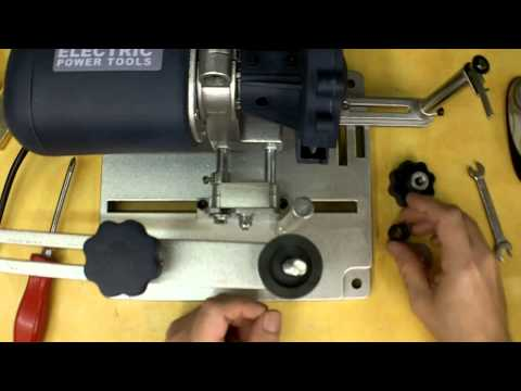 Harbor Freight Circular Saw Blade Sharpener Review and Modifications. Item 96687