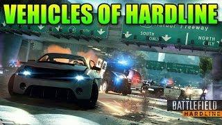 The Vehicles Of Battlefield Hardline Beta
