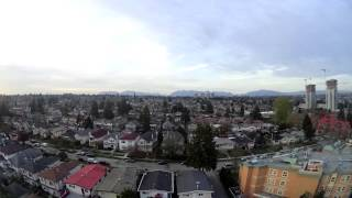 Time-lapse South-West Vancouver evening