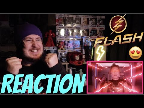 """The Flash 5x22 Finale REACTION!!!⚡""""Legacy"""""""