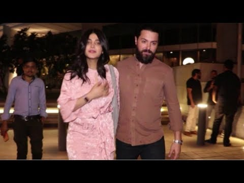 Shruti Haasan SPOTTED with Boyfriend Michael Corsale At Restaurant In Bandra