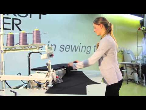 Beisler 1220-5 Automatic single head serging unit