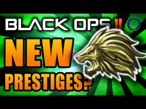 NEW Black Ops 2: Prestige 12 - 15! Extra Prestiges? - COD BO2 Gameplay Emblem Glitch / Hack