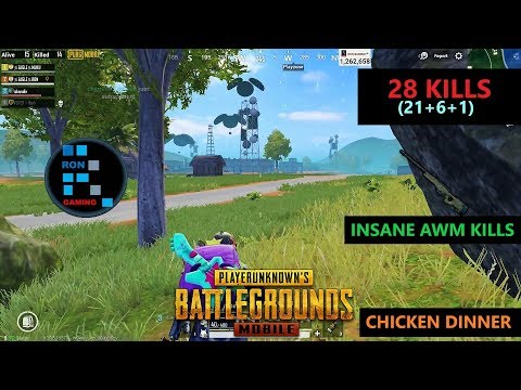 "[HINDI] PUBG MOBILE | ""28 KILLS"" IN SANHOK MAP & INSANE SNIPING IN THE END ZONE"