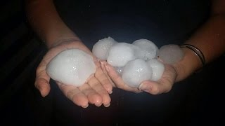 Chinchilla Australia  City pictures : Large Hail Chinchilla Australia 21 03 2015