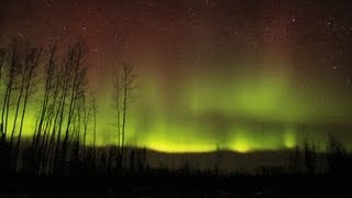 Northern Lights Time Lapse - High Definition
