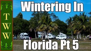Warning long video! Unfortunately most the free campgrounds in South Florida are now pay, but there are still  some inexpensive ones out there.  I also cover the Everglades National Park in more detail because I don't think a trip to Florida would be complete without exploring this park (and maybe at least some of the Keys).Blue Cypress Lake:http://www.ircgov.com/Departments/General_Services/Parks/Blue_Cypress_Park.htmhttp://www.middletonsfishcamp.com/homehttp://floridaswater.com/recreationguide/maps/Blue_Cypress_Conservation_Area.pdfDuPuis WMA:http://www.sfwmd.gov/portal/page/portal/xrepository/sfwmd_repository_pdf/dupuis_activity_camping.pdfhttp://www.sfwmd.gov/portal/page/portal/pg_grp_sfwmd_landresources/pg_sfwmd_landresources_recopps_dupuiscalhttp://myfwc.com/viewing/recreation/wmas/cooperative/dupuis/Everglades National Park:http://www.nps.gov/ever/index.htmShark Valley:http://www.sharkvalleytramtours.com/index.htmlBig Cypress National Preserve:http://www.nps.gov/bicy/index.htmCollier-Seminole State Park:https://www.floridastateparks.org/park/Collier-SeminolePicayune Strand State Forest (The Blocks):http://www.freshfromflorida.com/Divisions-Offices/Florida-Forest-Service/Our-Forests/State-Forests/Picayune-Strand-State-ForestOkaloacoochee Slough State Forest:http://www.freshfromflorida.com/Divisions-Offices/Florida-Forest-Service/Our-Forests/State-Forests/Okaloacoochee-Slough-State-ForestEasy Jam by Kevin MacLeod is licensed under a Creative Commons Attribution license (https://creativecommons.org/licenses/by/4.0/)Source: http://incompetech.com/music/royalty-free/index.html?isrc=USUAN1100245Artist: http://incompetech.com/