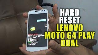 Explicación detallada de como hacer el Hard Reset aun Lenovo Motorola Moto G4 Play Dual XT1601.================================================================================Puedes apoyar el canal en Patreon: https://www.patreon.com/juanandresm  Gracias por tu apoyo y motivación.================================================================================ Eliminar Cuenta Google Metodo 1: https://youtu.be/G6Zc_6B7m28 Eliminar Cuenta Google Metodo 2: https://youtu.be/dS9hG7xSgtQ================================================================================FACEBOOK: https://www.facebook.com/hardresettutosTWITTER: https://twitter.com/juanbandas192================================================================================