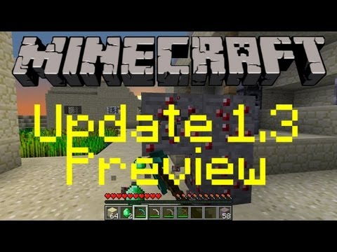 Minecraft 1.3 Update Preview: NEW Ore, Ender Chest and More!