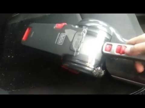 Black+Decker BDH1200PVAV 12V Pivot Automotive Vacuum - Corded