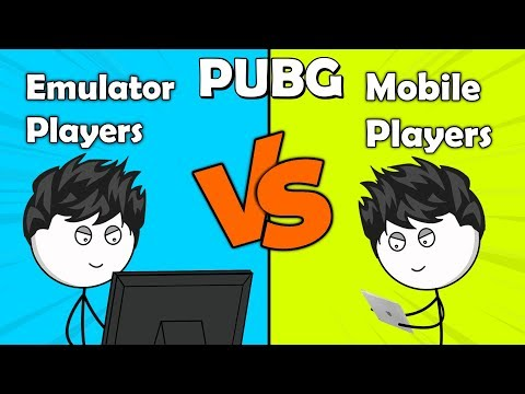 PUBG: Emulator Players VS Mobile Players