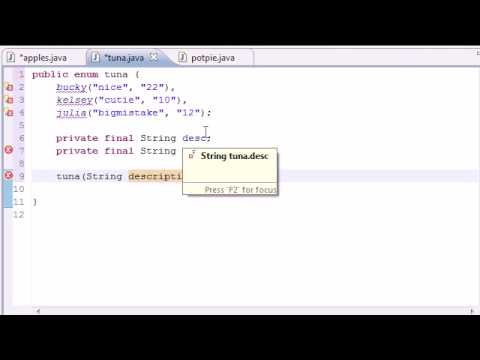 Java Programming Tutorial - 44 - Enumeration