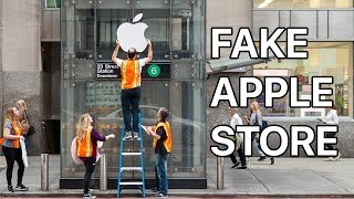 Video Waiting in Line for the iPhone X at a FAKE Apple Store MP3, 3GP, MP4, WEBM, AVI, FLV November 2017