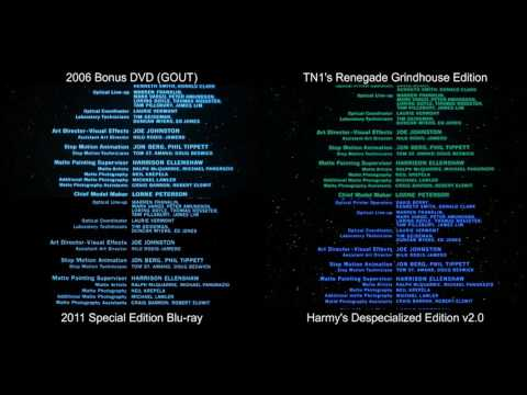 ORIGINAL Ending Credits | The Empire Strikes Back (1980) [DeEd, Blu-ray, GOUT, Renegade]