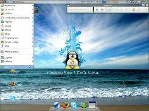My desk ubuntu