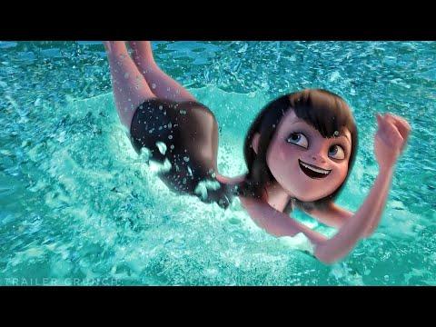 Pool Scene - Hotel Transylvania 3: Summer Vacation (2018) Movie Clip HD [1080p 50FPS HD]
