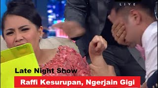 Video HEBOH, RAFFI AHMAD Kesurupan - NAGITA Ketakutan Sampai NANGIS - Late Night Show 8/11/2014 MP3, 3GP, MP4, WEBM, AVI, FLV Juli 2019