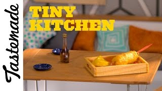 Tiny Corn Dog | Tiny Kitchen by Tastemade
