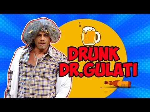 Drunk Dr. Gulati with Shahrukh Khan - The Kapil Sharma Show - Funniest Act Ever