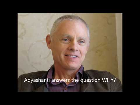 "Adyashanti Audio: ""Why?"" Is a False Question From the Ego"