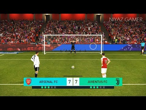 ARSENAL vs JUVENTUS F.C | Penalty Shootout | PES 2018 Gameplay PC