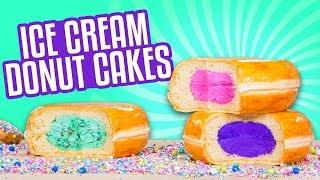 Video 3 Flavors Ice Cream Donut CAKES! | How To Cake It MP3, 3GP, MP4, WEBM, AVI, FLV Juli 2018