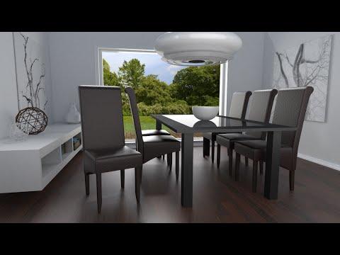 TecTake - Sedia Design per sala da pranzo