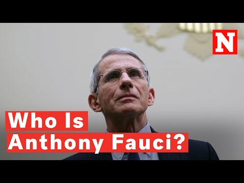 Who is Dr. Fauci, says Newsweek