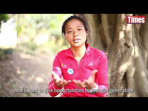 (Catching up with Mira Rai - Duration: 101 seconds.)