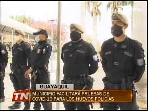110 policías empezaron a patrullar las calles del distrito modelo