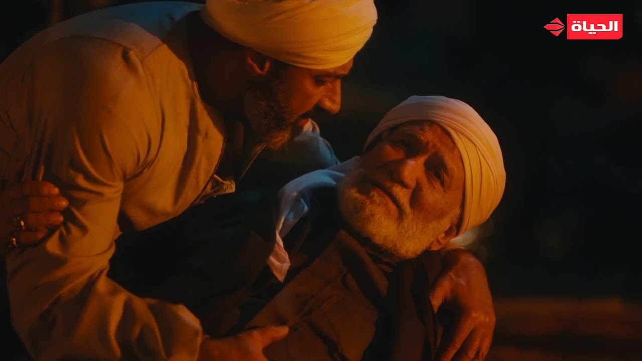 """الفتوة - لحظة قتل المعلم """"صابر"""" ووصيته لـ""""حسن الجبالي"""": """"ليل"""" أمانة في رقابتك يا حسن ملهاش حد غيرك"""