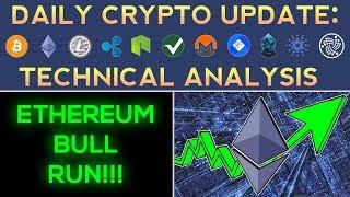 RAIBLOCKS & ETHEREUM TAKE OVER BITCOIN!? (1/9/18) Daily Update + Technical Analysis